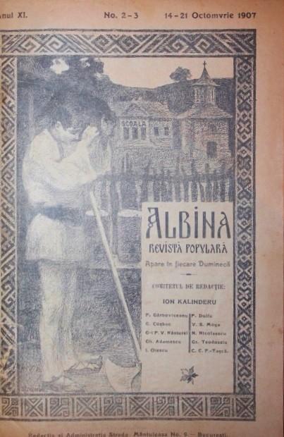 """Imagini pentru Bucureşti, """"Albina"""", revista enciclopedica photos"""