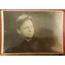 FOTOGRAFIE , GEORGE ENESCU 11,5 X 17 CM