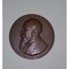 """MEDALIE NICOLAE IORGA  """" DIN PARTEA ADMIRATORILOR SI FOSTILOR ELEVI""""  1921"""
