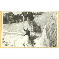 CARTE POSTALA, CONSTANTA - INGHET, IANUARIE 1941