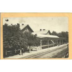 CARTE POSTALA, TARGOVISTE - GARA, 1933