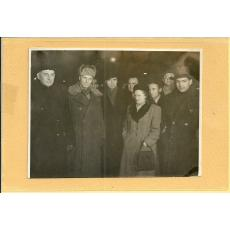 FOTO, ZAHARIA STANCU CU POETUL SOVIETIC SCIPACIOV SI LONIDZE, 1950