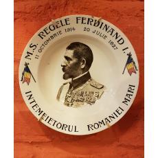 M. S. REGELE FERDINAND - INTEMEIETORUL ROMANIEI MARI