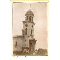 CARTE POSTALA, BARLAD (BERLAD), BISERICA SFANTUL ILIE, 1898