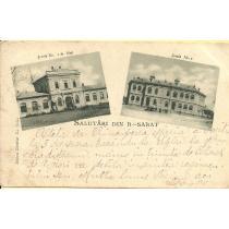 CARTE POSTALA, R. - SARAT (RAMNICUL-SARAT), CLASICA, 1901