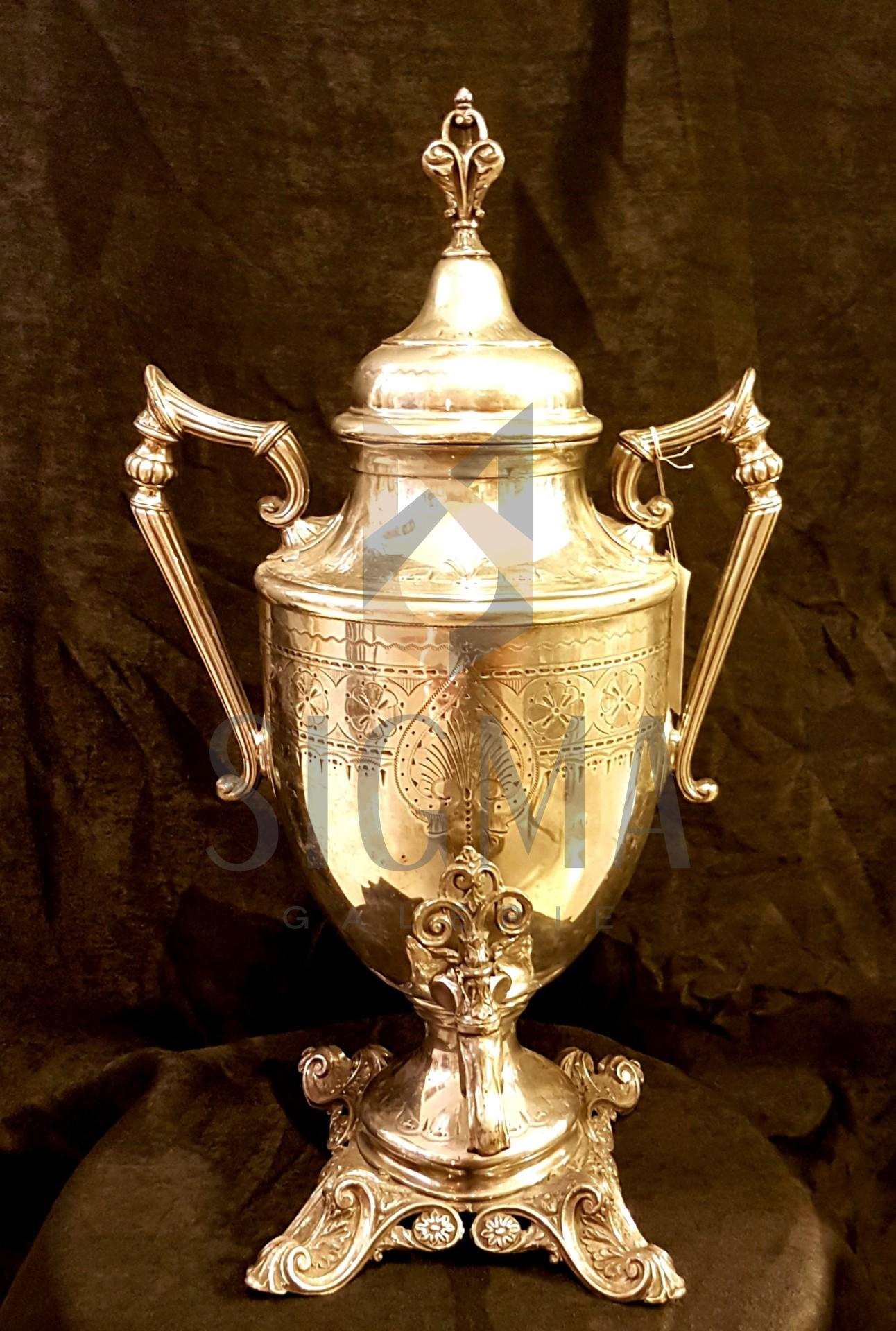 SAMOVAR-PHILIP ASHBERRY& SONS SHEFFIELD 1856-1900