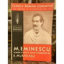 """CLASICI ROMANI COMENTATI """"MIHAI EMINESCU"""""""