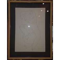 """HENRY MAVRODIN """"NUD I"""", Litografie, 1978"""