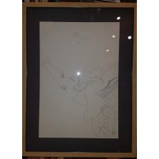 """HENRY MAVRODIN """"NUD III"""", Litografie, 1992"""