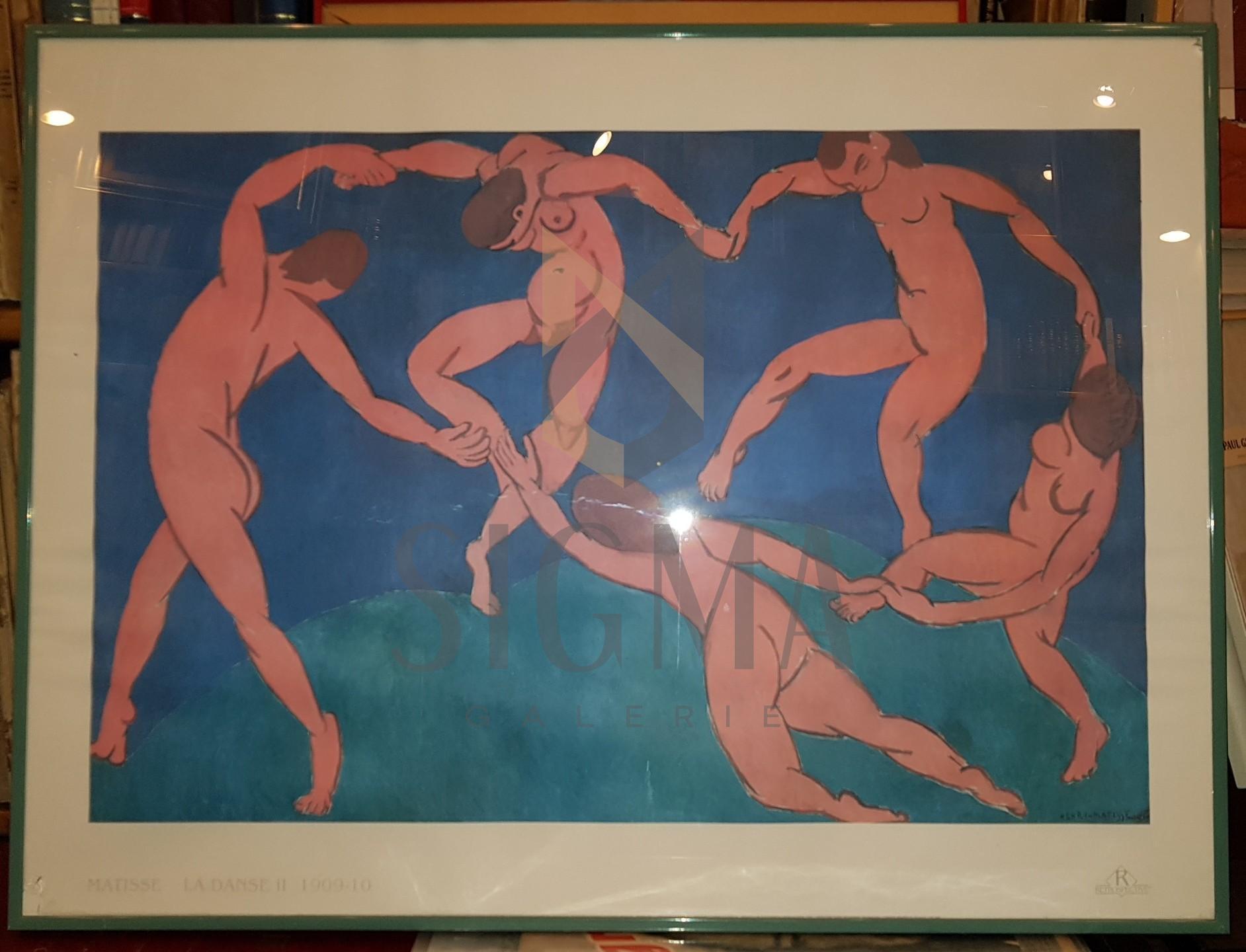 "AFIS, HENRI MATISSE "" LE DANCE II"", 61cm. X 81cm."