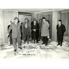 FOTOGRAFIE, ZAHARIA STANCU, SANTIERUL VILA SCRIITORILOR - NEPTUN, 1971
