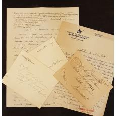 LOT SCRISORI GHEORGHE T. KIRILEANU, 1945, Bucuresti