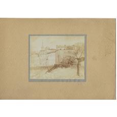 FOTOGRAFIE ORIGINALA, TABLOU M. BUNESCU - DIN CONSTANTA ( REVISTA LUCEAFARUL) 1919
