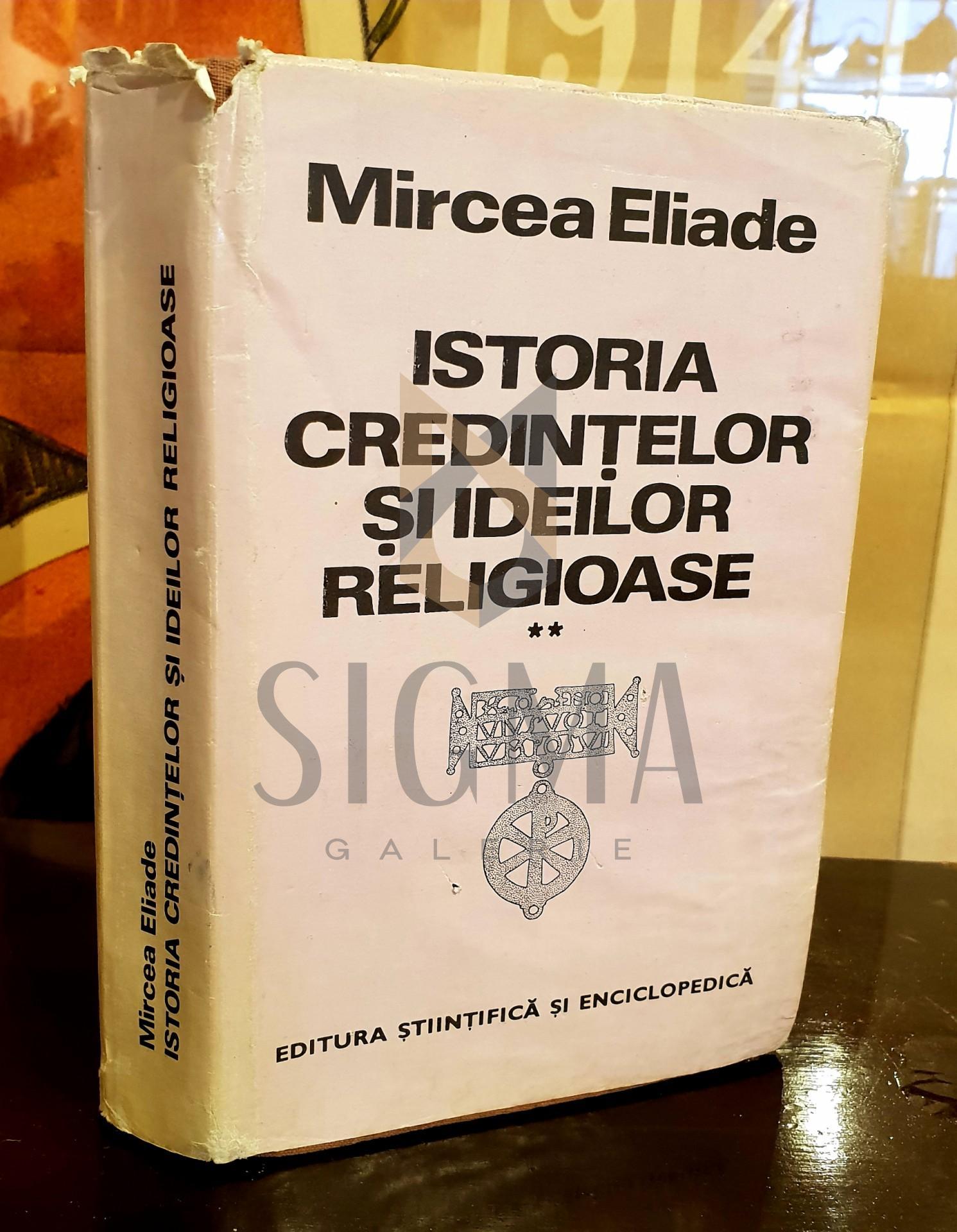 ISTORIA CREDINTELOR SI IDEILOR RELIGIOASE