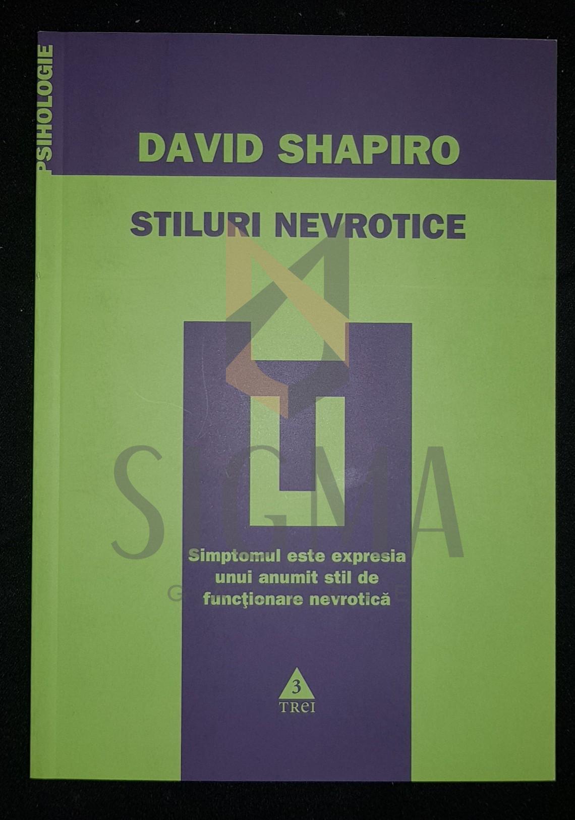 SHAPIRO DAVID