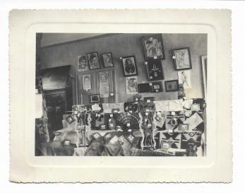 """FOTO """"CU OCAZIA EXPOZITIEI ORGANIZATE DE CERCETASII DIN CENTURIA VIII-a ARMEANA"""", 1 Mai 1933, Bucuresti"""
