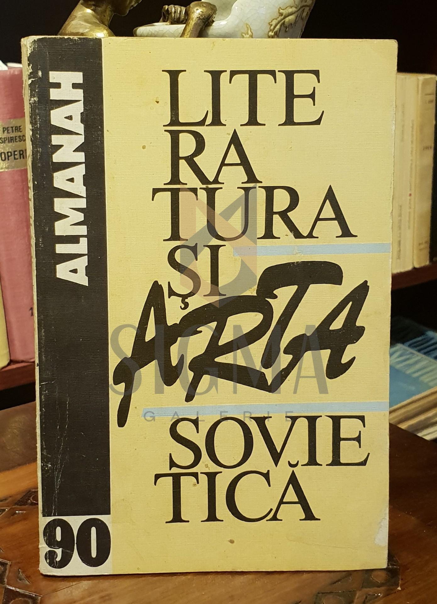 LITERATURA SI ARTA SOVIETICA - ALMANAH