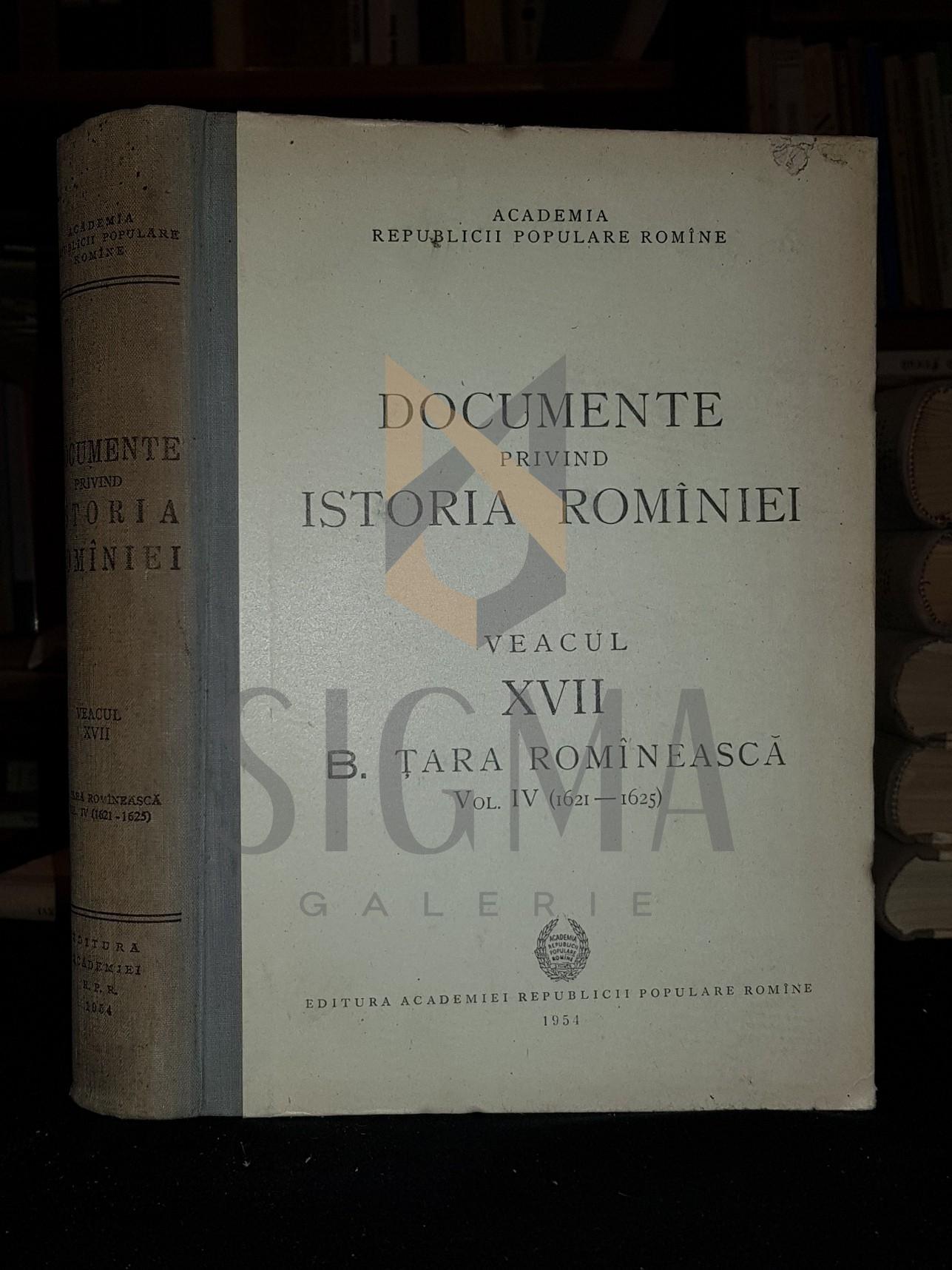 ION IONASCU, L. LAZARESCU-IONESCU, BARBU CAMPINA, EUGEN STANESCU, D. PRODAN si MIHAIL ROLLER (Comitetul de Redactie)