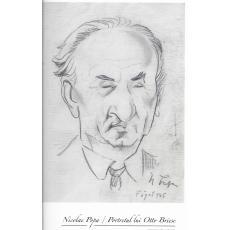 """Tablou, Nicolae Popa,  """"Portretul lui Otto Briese""""  creion pe hartie, 21 x 15 cm, semnat dreapta jos N Popa, localizat si datat - Faget 945"""