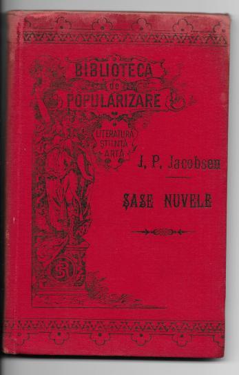 J. P. JACOBSEN ( traducere in limba romana de I. Hussar )