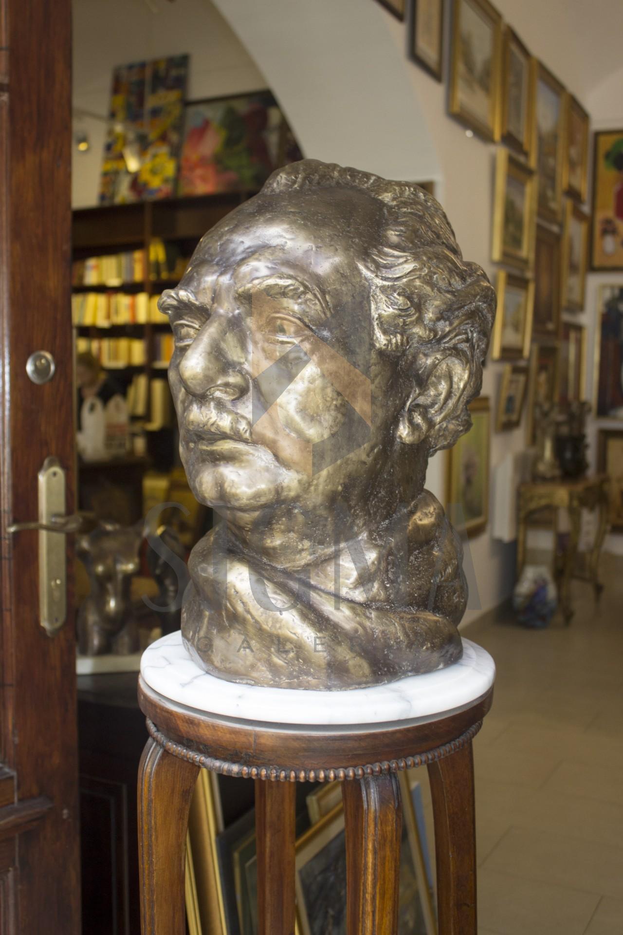 Sculptura din bronz, autor- Ion Irimescu, Portretul lui Otto Briese