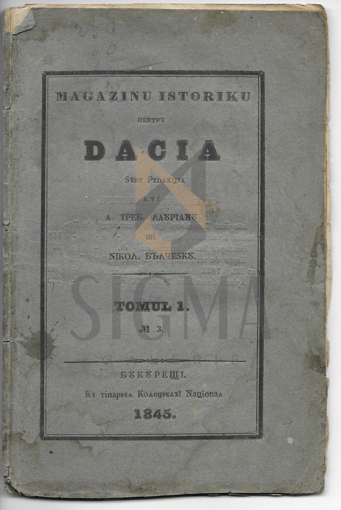 A. TREBONIU LAURIANU  SI NICOLAE BALCESCU