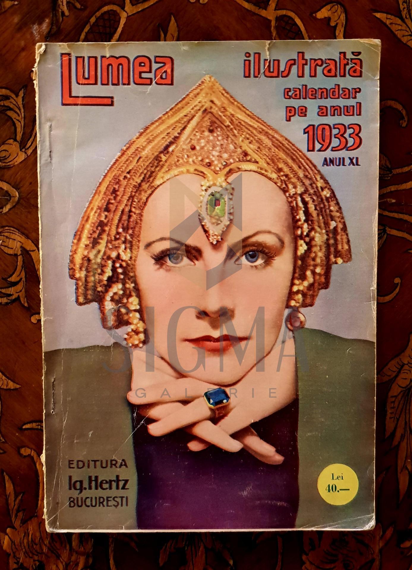 Lumea ilustrata, calendar pe anul 1933