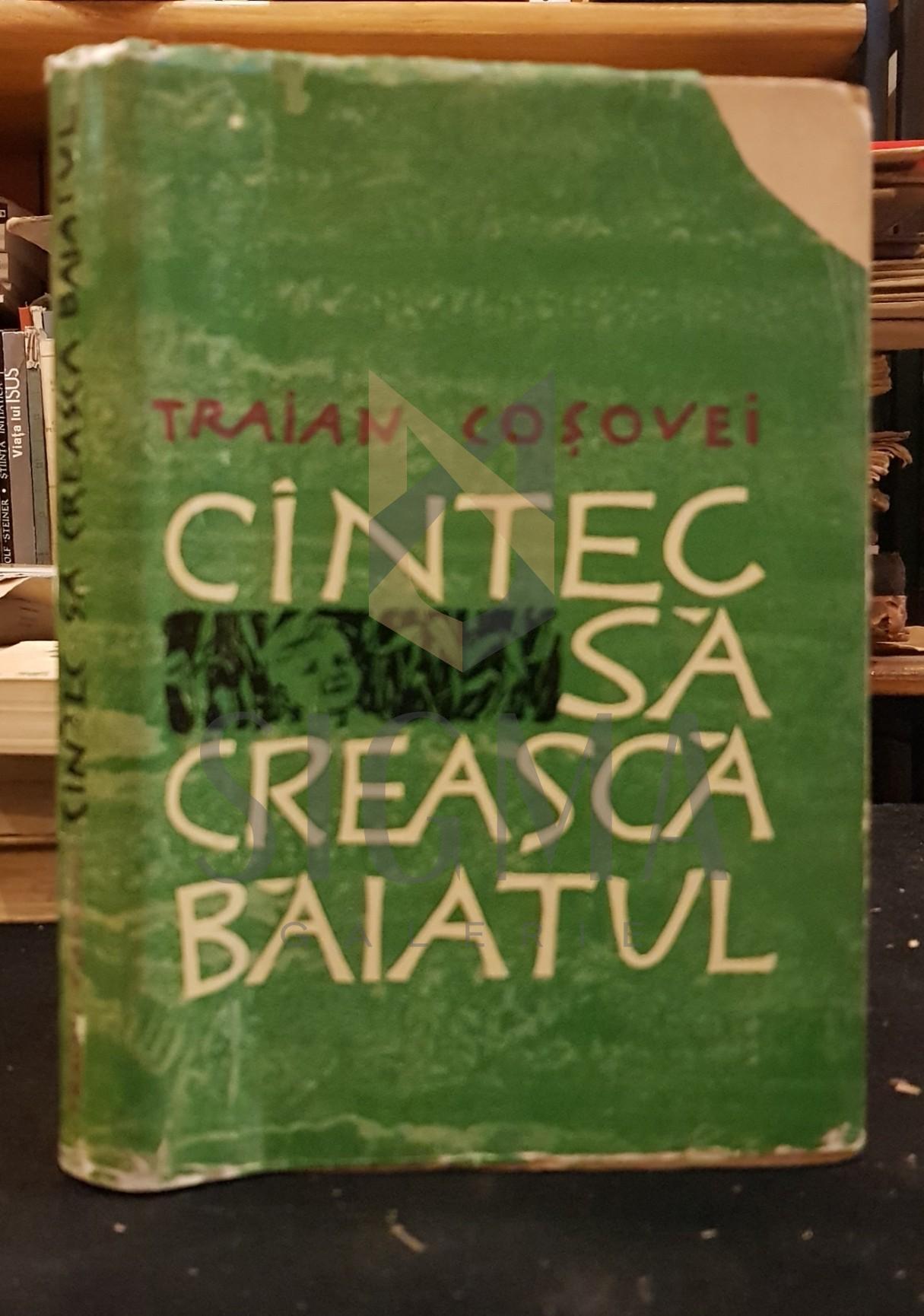 TRAIAN COSOVEI ( dedicatie autograf catre Geo Bogza )