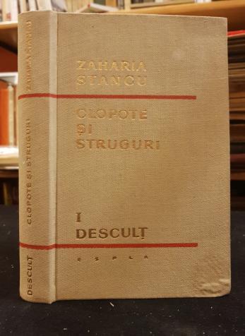 ZAHARIA STANCU ( dedicatie autograf catre Geo Bogza )