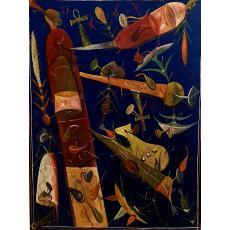 """TABLOU, STEFAN PELMUS """" ICAR """" , U/C, 2000"""