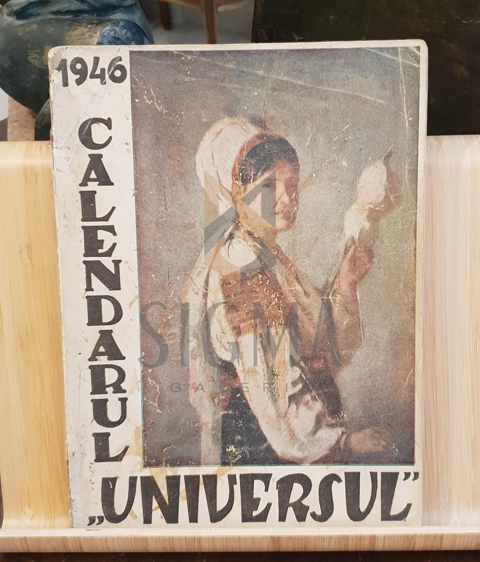 """Calendarul """"Universul"""" 1946"""