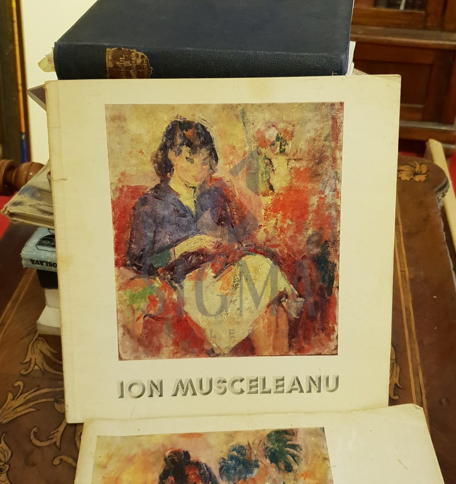 Ion Musceleanu  Catalogul expozitiei septembrie-octombrie 1983