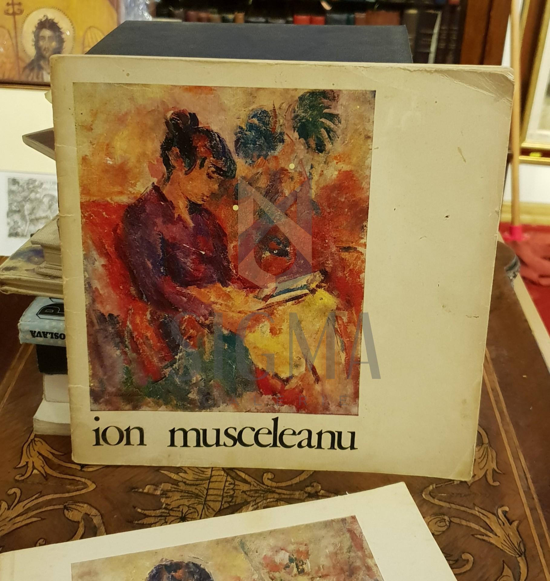 Ion Musceleanu  Catalogul expozitiei din Noiembrie 1973, Sala Dalles
