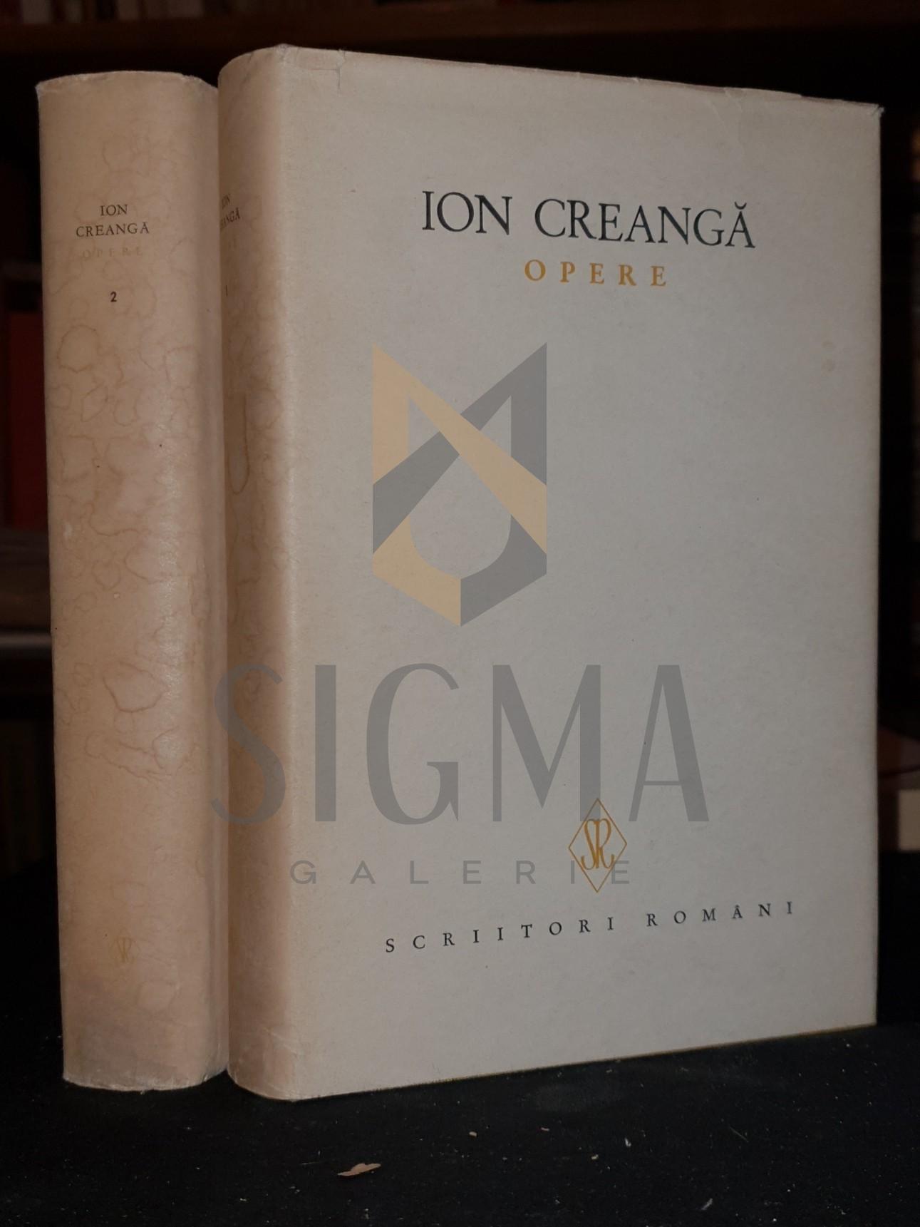 ION CREANGA ( editie ingrijita de Iorgu Iordan )