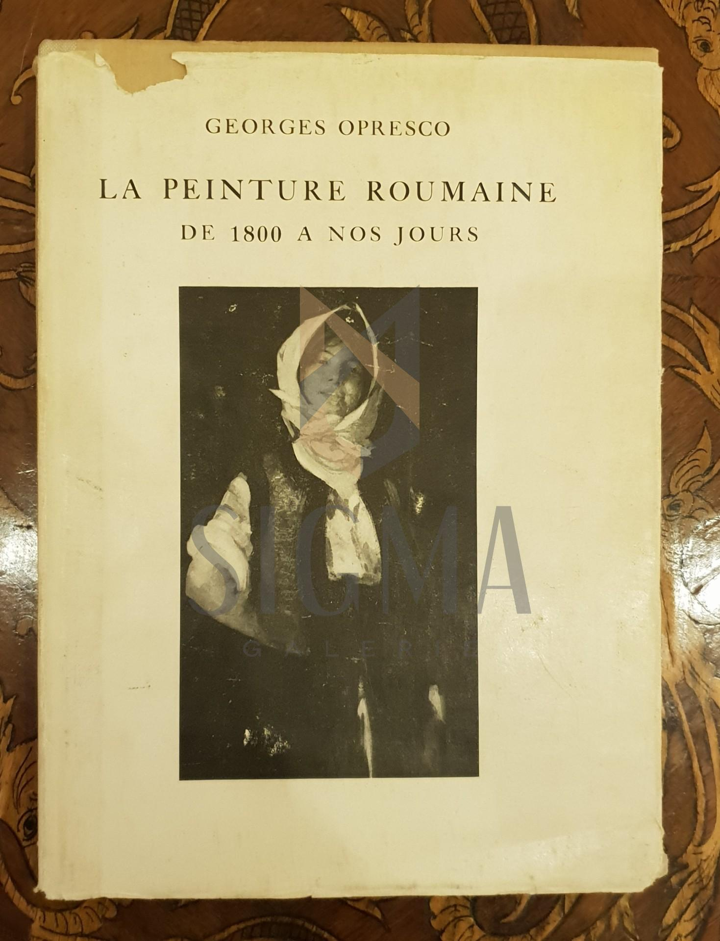 Le peinture Roumaine de 1800 a nos jours