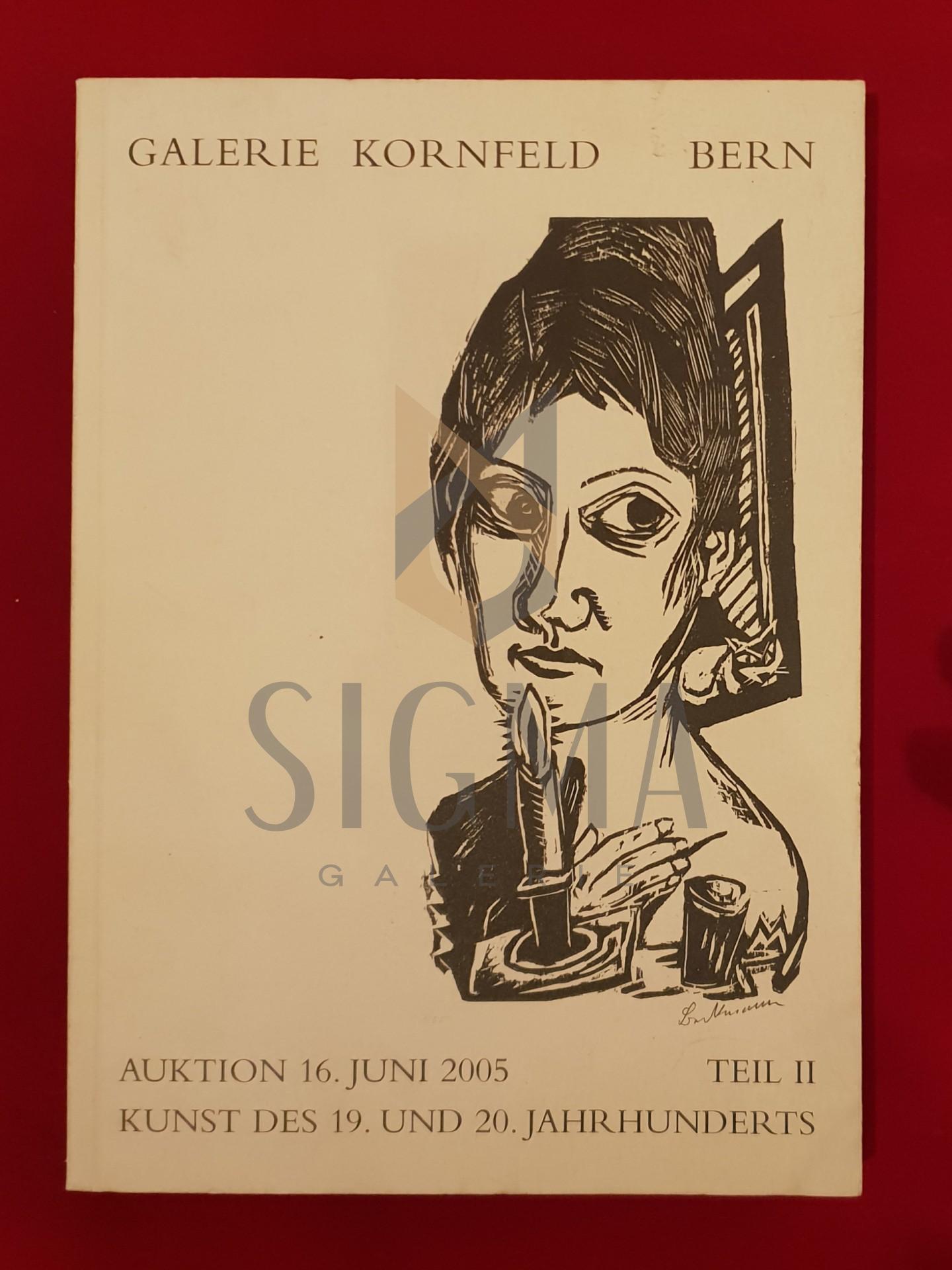 Moderne Kunst - Auktion 235 - II Teil - Galerie Kornfeld - Bern 2005
