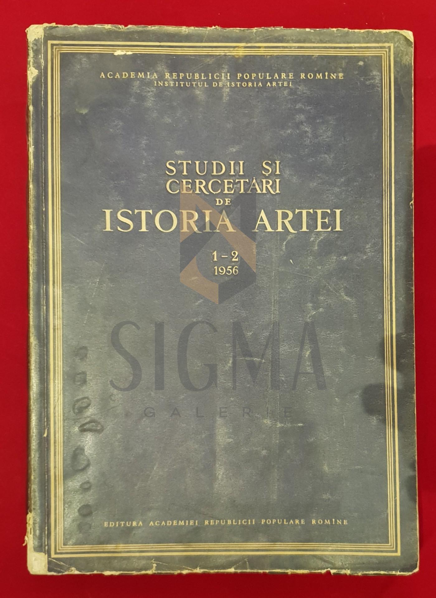 Studii si cercetari de Istoria Artei, 1-2, 1956