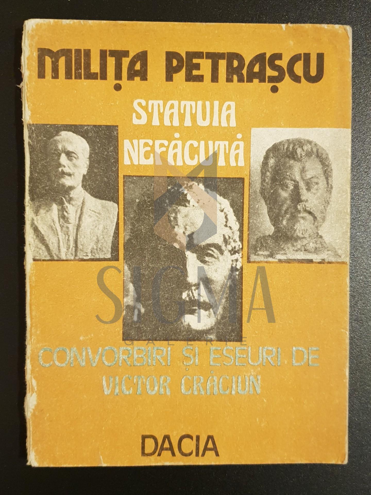 """Milita Petrascu * Statuia nefacuta"""""""