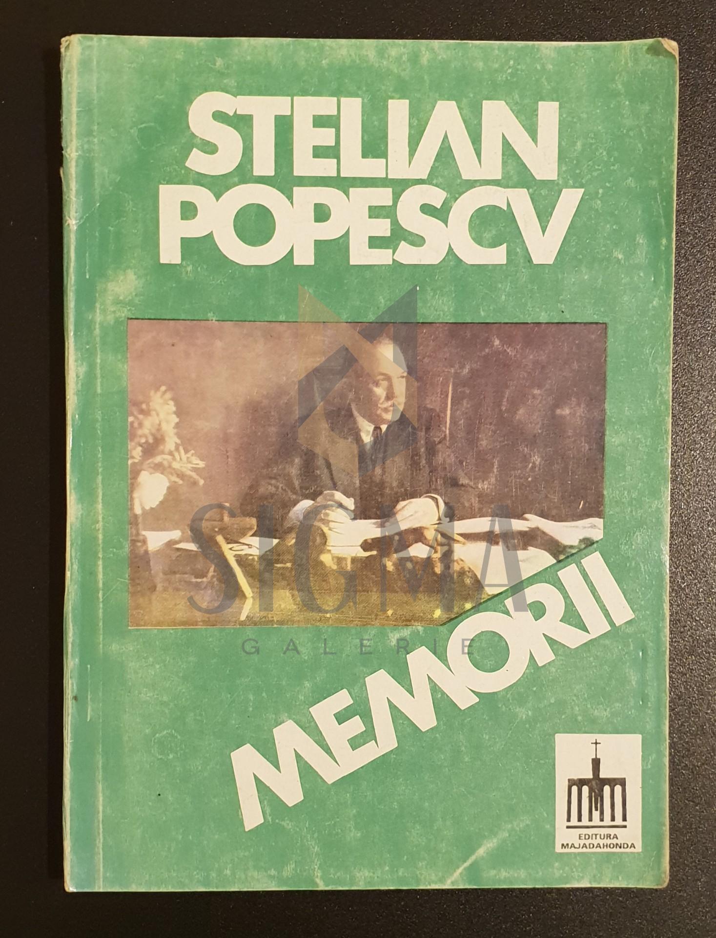 Stelian Popescu  *  Memorii