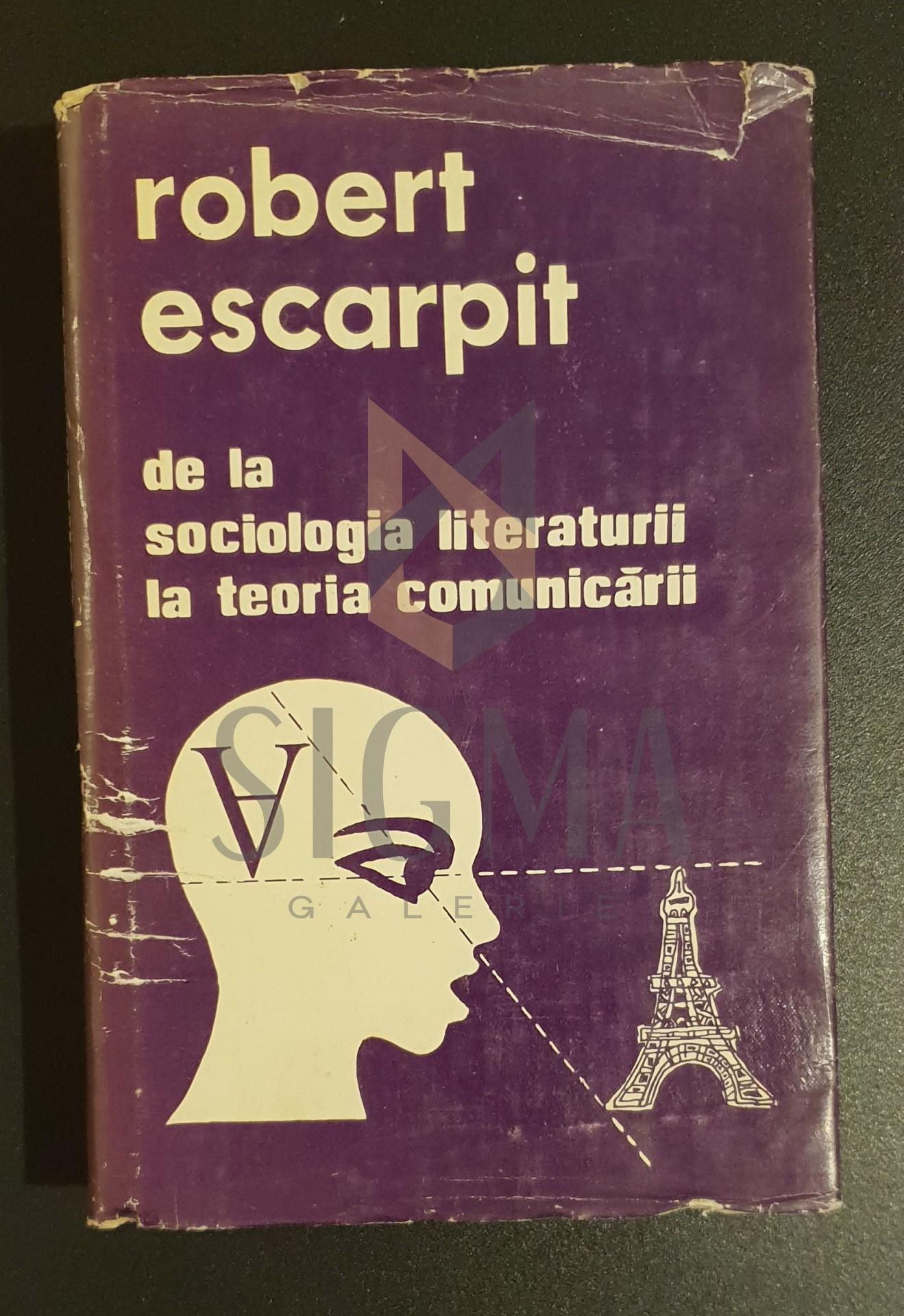De la sociologia literaturii la teoria comunicarii