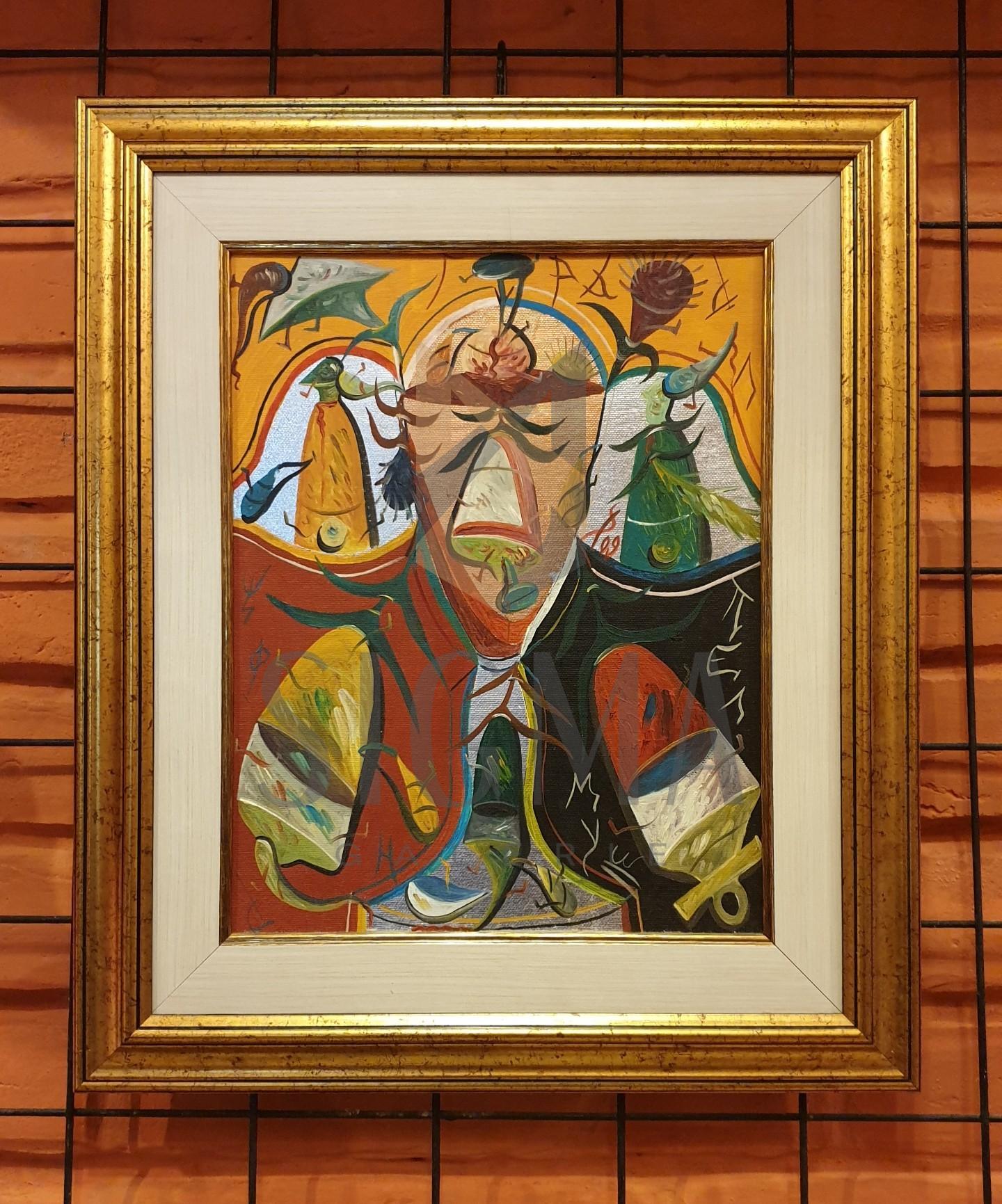 """TABLOU, STEFAN PELMUS, """" GRAAL """" , U / P , 2009"""