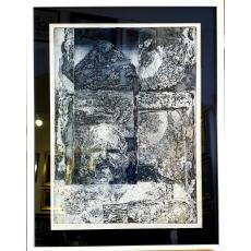 "Tablou, Cionca Dumitru (N. 1936), ""Bobalna II"", acvaforte pe hartie, dim: 56x42 cm"