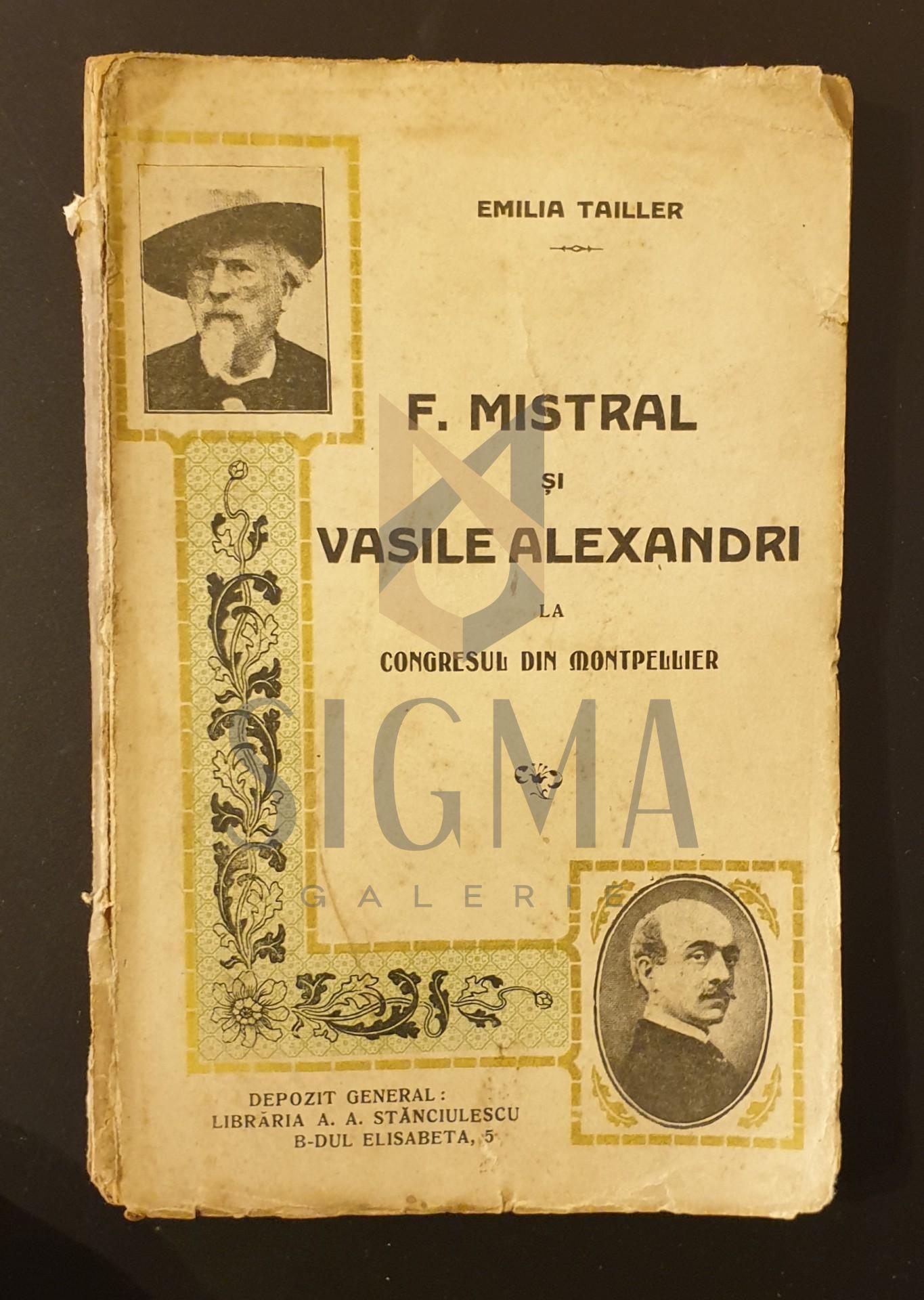 Frederic Mistral si Alexandri la congresul din Montpeller