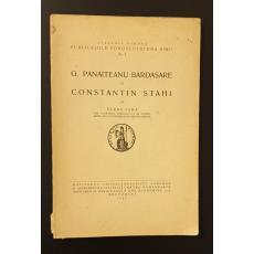 G. Panaiteanu Bardasare si Constantin Stahi