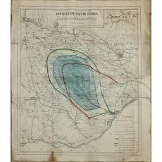 CARTE DU DISTRICT DE VLASCA ( Harta judetului Vlasca )