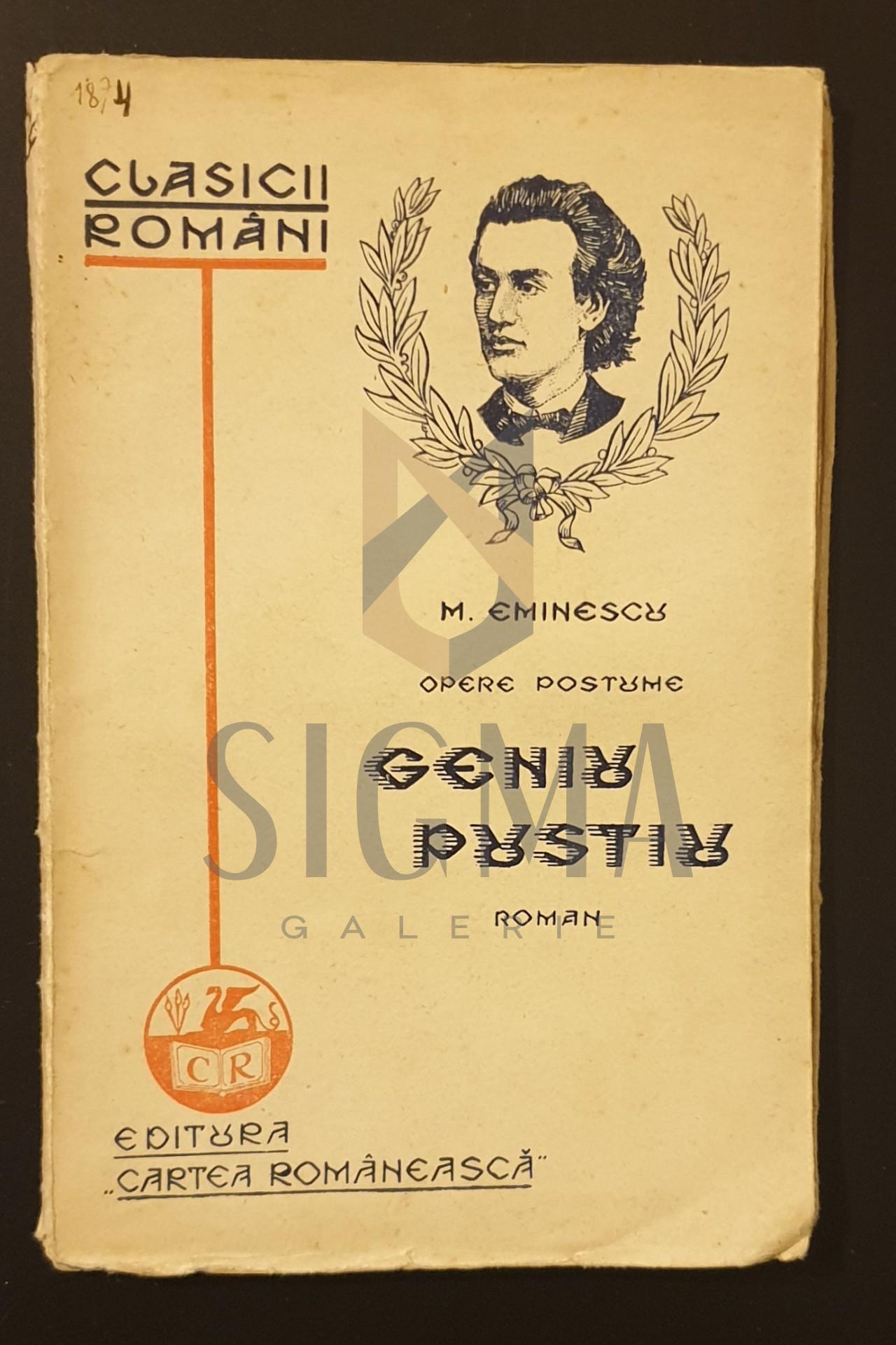 M. Eminescu, Opere postume, Geniu pustiu