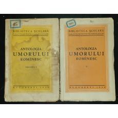 ANTOLOGIA UMORULUI ROMANESC, 2 VOL, 1934