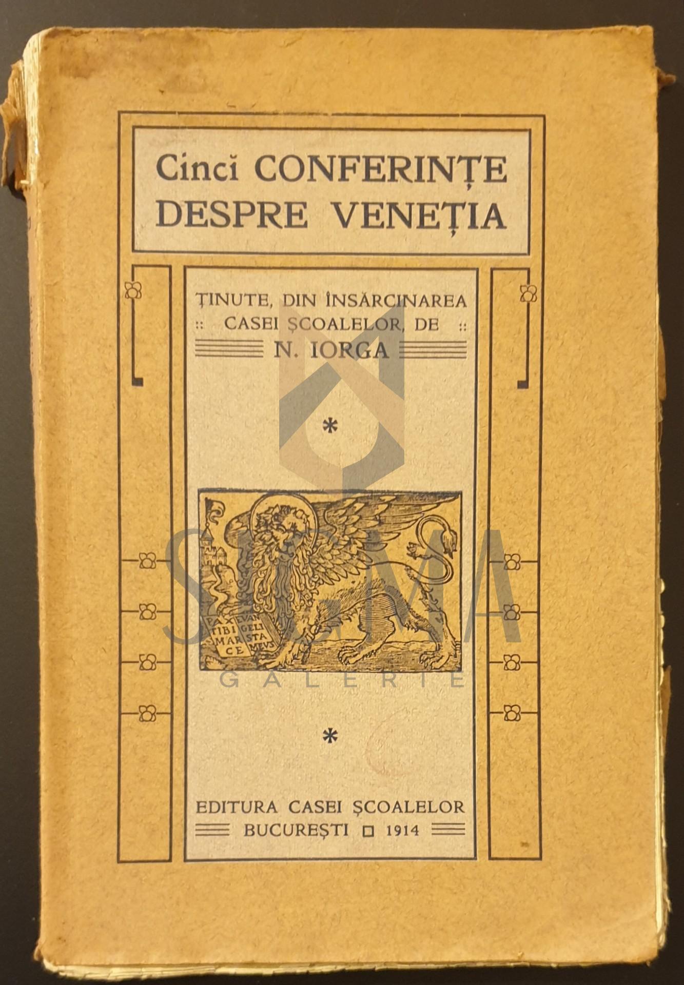 Cinci conferinte despre Venetia