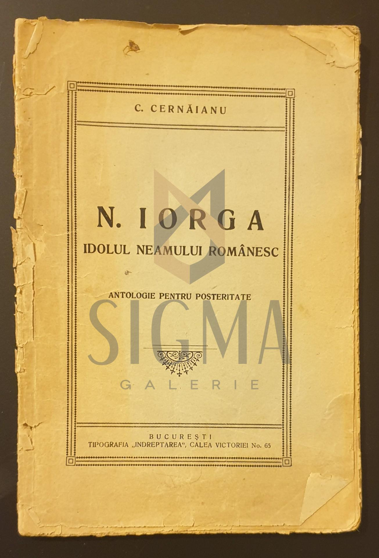 N. Iorga idolul neamului romanesc