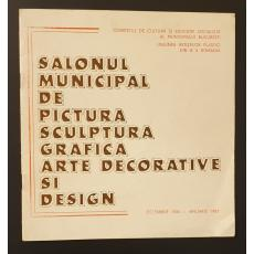 Salonul municipal de pictura, sculptura, grafica, arta decorativa si design; Decembrie 1986 - Ianuarie 1987
